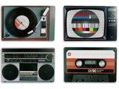 Retro Placemats 4 sets| Pride Kings®