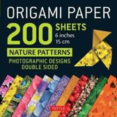 ORIGAMI PAPER NATURE PATTERNS