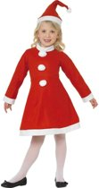 Kerstvrouwkostuum voor meisjes - Kinderkostuums - maat 128-140