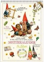 Comello - Kalender 2019 - Rien Poortvliet - Maandnotitiekalender - Kabouter - A4