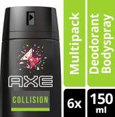 Axe Forest & Graffiti Deodorant Spray - 150 ml - 6 stuks - Voordeelverpakking