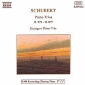 Schubert: Piano Trios D 929 & D 897 / Stuttgart Piano Trio