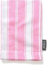KipKep Blenker Hydrofiele Washand - Roze met Witte streep