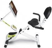 REC-BIKE opklapbare hometrainer - met boek/tablet-houder - YF93