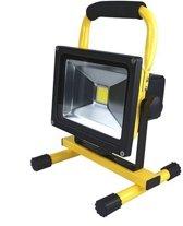 Accu Led bouwlamp 20 Watt Daglicht