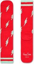 Happy Socks Athletic Flash Rood, Maat 36/40