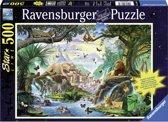 Ravensburger Starline puzzel Dieren bij de drinkplaats 500 stukjes