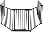 TecTake veiligheidshek - openhaard hek - multifuctioneel hek - kachelhek - 400754
