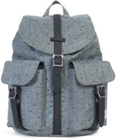 Herschel Supply Co Dawson Women Rugzak Scattered Raven Crosshatch Black