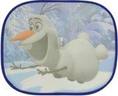 Frozen Olaf Auto Zonneschermen - Zonwering voor Autoraam - 2 stuks