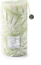 Riviera Maison Monstera Leaf Candle 7x13 - Kaars - groen