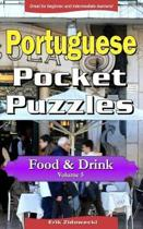 Portuguese Pocket Puzzles - Food & Drink - Volume 5