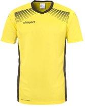 Uhlsport Goal Shirt Korte Mouwen Geel - Maat 128