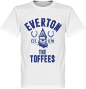Everton Established T-Shirt - Wit - S