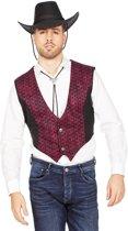 Cowboy & Cowgirl Kostuum | Cowboy Vest Phoenix Man | Maat 48 | Carnaval kostuum | Verkleedkleding