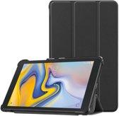 Samsung Galaxy Tab A 8.0 2017 (T380/T385) hoesje - Smart Tri-Fold Case - zwart