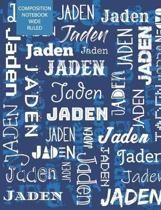Jaden Composition Notebook Wide Ruled