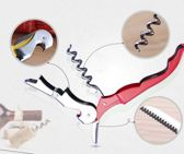 Multifunctionele opener - flesopener - kurktrekker - blikjes opnener
