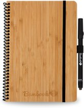 Bambook Hardcover A5 formaat - To-do list - Bamboe - met stift