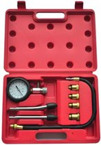 VidaXL Dopsleutel Compressie Meter 210005 - Voor Benzinemotoren - 9-delig