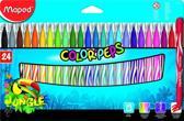 Color'peps Jungle viltstiften - medium penpunt x 24