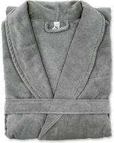 Badjas LARV S/M donker grijs