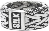 SILK Jewellery - Zilveren Ring - Infinite - 231.17.5 - Maat 17.5