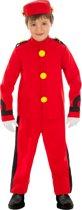 Robbedoes™ kostuum voor kinderen - Verkleedkleding - Maat 110/116