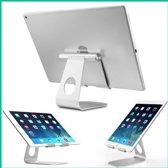 Aluminium Tablet Standaard - Verstelbaar - voor iPad, iPhone, alle tablets