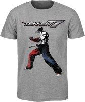 Tekken 7 - Logo T-Shirt - Grijs - XL