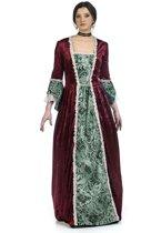 Koning Prins & Adel Kostuum | Middeleeuwse Koningin Eleonora Van Engeland | Vrouw | Maat 46 | Carnaval kostuum | Verkleedkleding