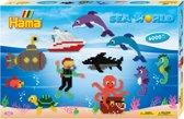 Strijkkralen zeewereld 6000 stuks