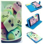 iCarer Candy print wallet case hoesje iPhone 7