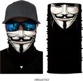 Luxe Biker Mask - Fietsmasker - Motormasker - Balaclava - Gezichtsmasker - Bivakmuts - Anonymous - Hacker