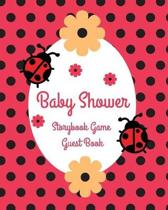 Baby Shower Storybook Game Guest Book