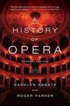 Boek cover A History of Opera van Carolyn Abbate (Paperback)