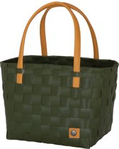 Handed By Color Block - Shopper - Leger groen