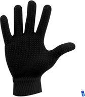 Hockeyhandschoenen Winter Sport Handschoenen - Extra Grip - Anti Slip - Junior - S / M - Meisjes / Jongens - Zwart