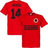 Albanië Xhaka Team T-Shirt - L
