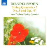 Mendelssohn: String Quartets 3