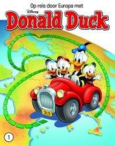 Omslag van 'DONALD DUCK REIS DOOR EUROPA 0001'