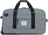 Herschel Supply Co. Wheelie Outfitter - Reistas - 70 cm - Raven Crosshatch / Black Pebbled Leather