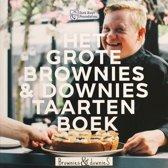 Omslag van 'Het grote Brownies & downieS taartenboek'