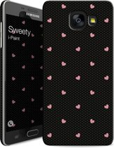 i-Paint cover Sweety - zwart - voor Samsung A5 2017
