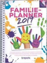 Brepols Familie Agenda 2019 - 7d/2p - spiraal - softcover - 6 personen - 17 x 23 cm