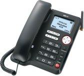 Maxcom MM29 3G SIM - Vaste telefoon - Antwoordapparaat - Zwart