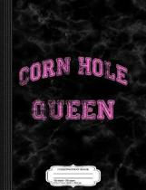 Vintage Corn Hole Queen Composition Notebook