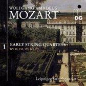 Mozart: Early String Quartets, Vol. 1