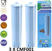 3x Jura Blue 71311 Waterfilter van Icepure Waterfilter CMF001