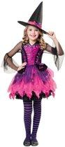 Halloween - Barbie heksen kostuum voor meisjes 128-140 (8-10 jaar)